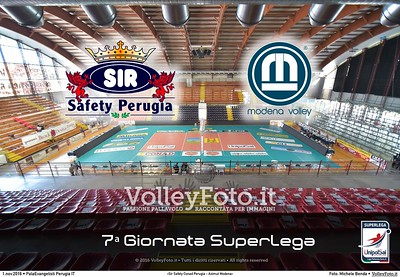 7ª #SuperLega «Sir Safety Conad Perugia - Azimut Modena»