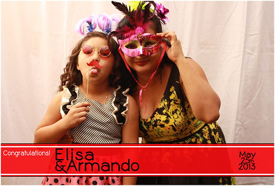 Elisa & Armando Photo Booth