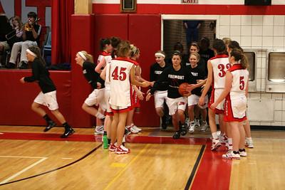 Girls Varsity Basketball - 2009-2010 - 12/8/2009 Coopersville
