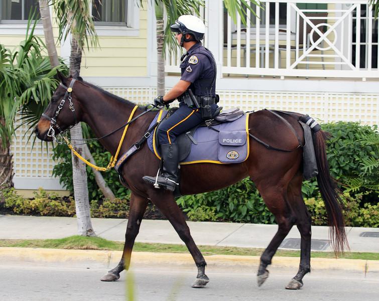 Key West policeman