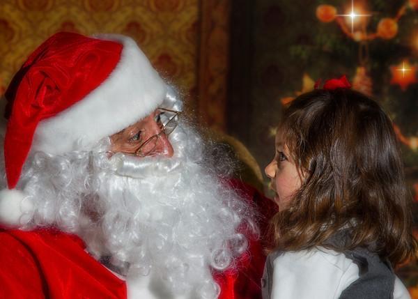 Photos with Santa 2013 - Radium Hot Springs