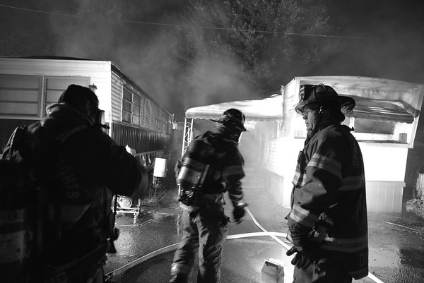 Dearborn Heights- Mobile Home fire