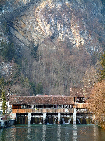 Interlaken dam