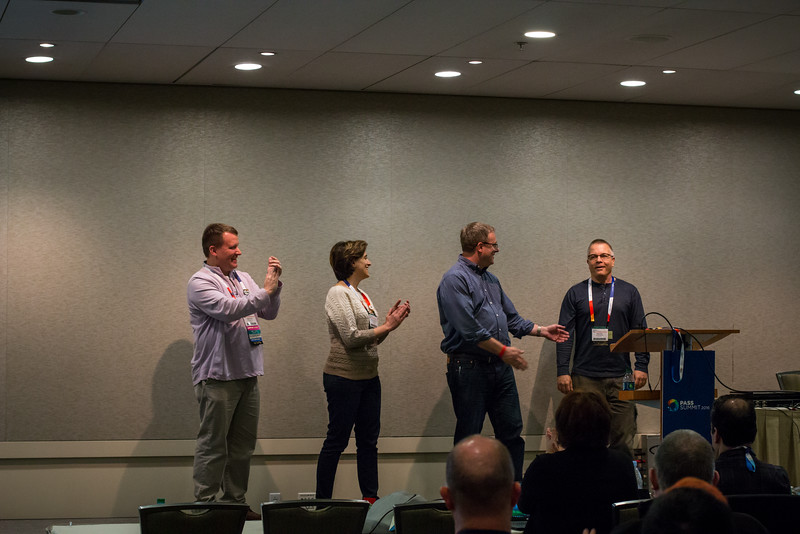 Peter Kral wins the PASS Summit Speaker Idol competition