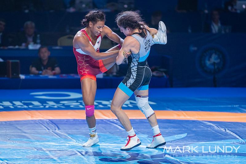 Semifinal: Jacarra Gwenisha Winchester (United States) over Bediha Gun (Turkey)  •  Dec 6-4 - 2019 World Championships