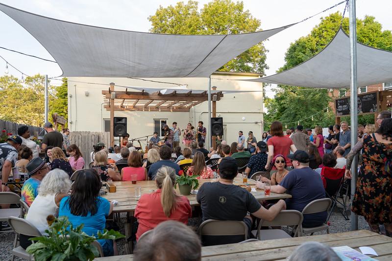 Cultivate beer garden in Ypsilanti