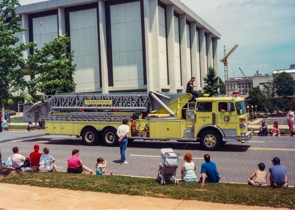 Charlotte Fire Convention and Parade
