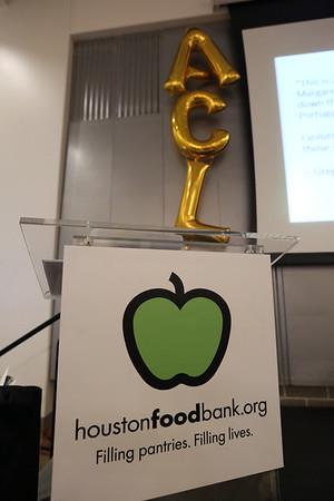Houston Food Bank - Apple Corps Leader Dinner