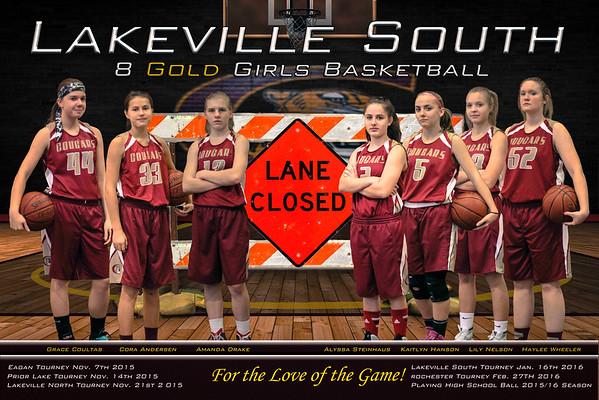 Cougars 8A Girls Basketball 2015