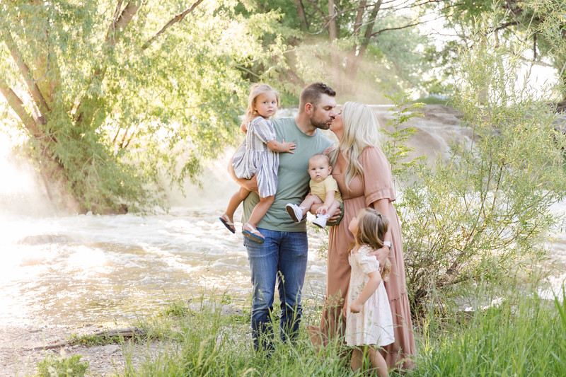 Nash is 6 months and the Family at Golden Ponds