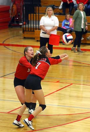 Highland @ Shullsburg Volleyball 10-11-18