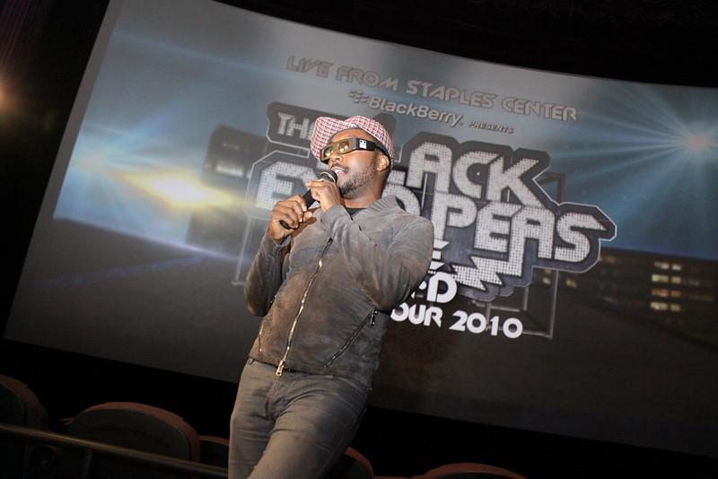Black Eyed Peas Fan Fest - L.A. Live