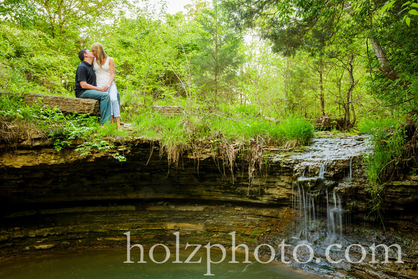 Morgan & Matt - Color Engagement Photos