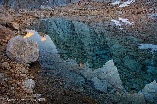 Mt. Whitney Reflection - Eastern Sierra