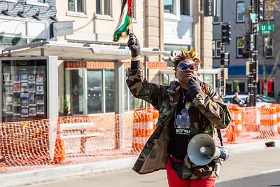 Black People's March on Washington, Washington DC, November 2