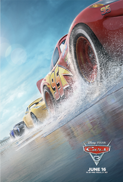 The newest trailer for CARS 3 is all about rivalry