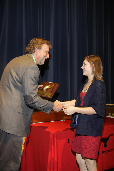 Awards Night 2012 - Golden Mouse Award (AutoCAD Student of the Year)