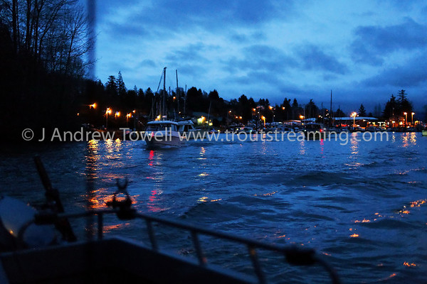 09 Sidewinder Charters at Cathlamet for Spring Chinook