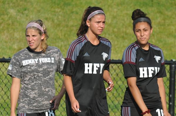 MD Henry Ford v Grand Blanc girls soccer D1 Semi final #1