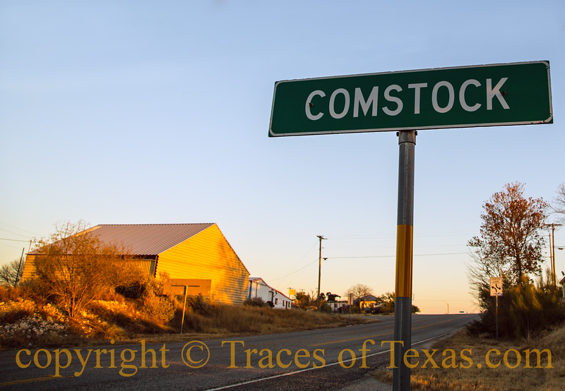 "Title: Comstock City Limits<br /> <br /> Comments: A local told me that it's ""not the ends of the earth, but you can see it from here.""<br /> <br /> Location: Comstock"