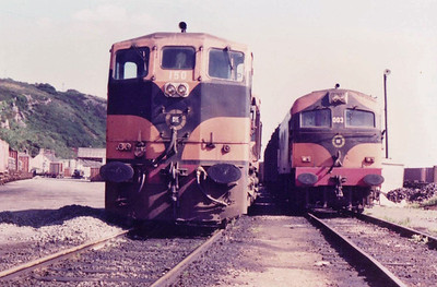 CIE & IR A Class later Class 001 (Metropolitan Vickers with a Crossley HSTV8 1200HP engine replaced by GM12-645E 1325 hp)