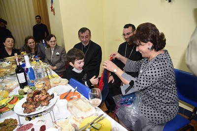 Primate Visits FAR Children's Center in Yerevan, December 2017