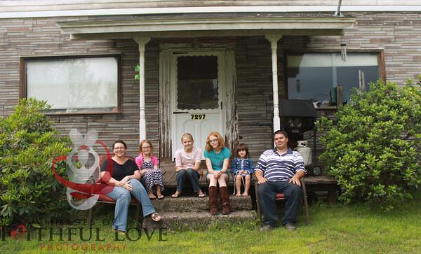 Miller Family 6-5-12