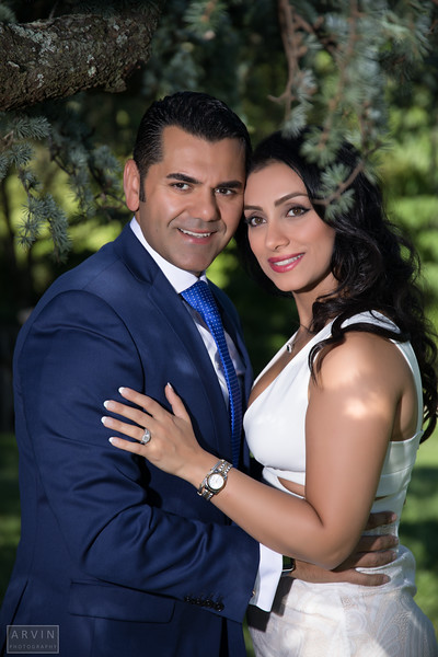 Mahta and Arash - The Engagement
