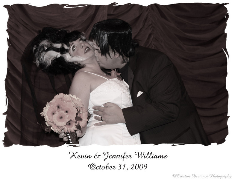 October 31, 2009  Happy Halloween  I was at the wedding of the century. Congrats to the bride and groom.   Love you guys!