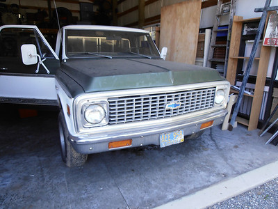 1972 Chevrolet Pick Up - Project