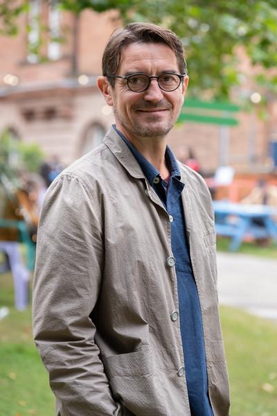 Nick Barley, Director of the Edinburgh International Book Festival