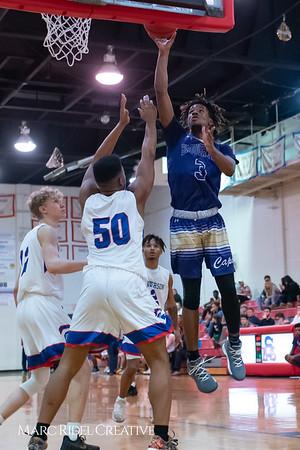 Broughton boys varsity basketball vs Sanderson. February 12, 2019. 750_6439