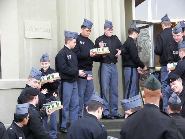 Cadet Food Donations