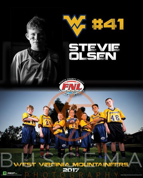 2017 West Virginia Mountaineers 5/6 Fall 2017