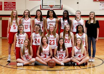 2019 LHJH Girls Basketball