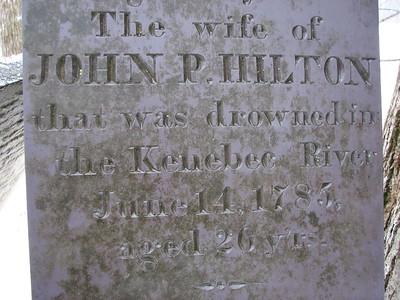 John Pike Hilton Grave