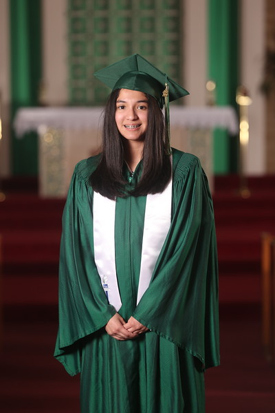 StG 8th Graders (Cap and Gown 2018)