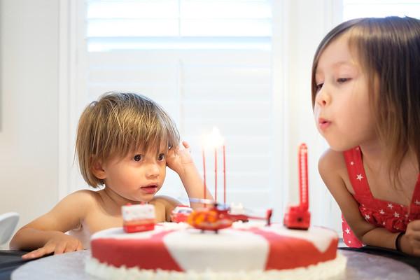 Xavier's 3rd Birthday
