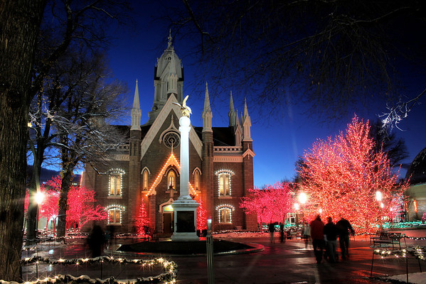 12-09-2012 - Temple Square Lights