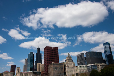 Chicago Skyline as seen from Grant Park