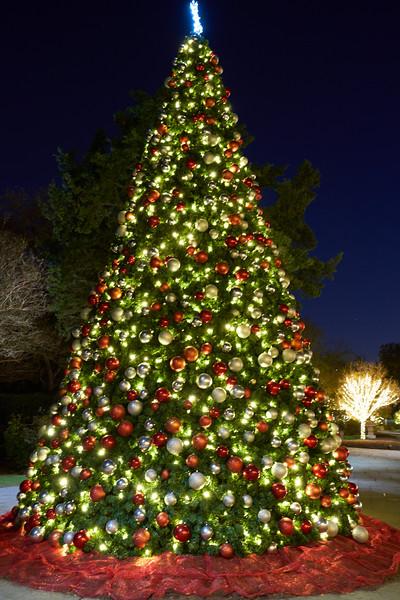 Dallas Arboretum - 12 Days of Christmas - 2019