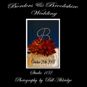 Borders Brookshire Wedding Album