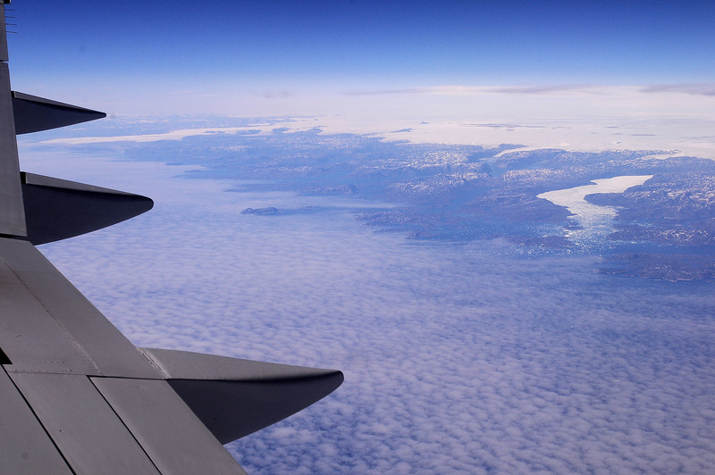 over greenland, 2014