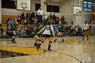 161105 - NCS  LHS WOMEN'S VOLLEYBALL ( BISHOP O'DOWD)