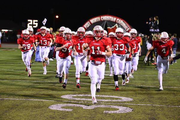 Football, Varsity vs Brook Hill 11-15-2013