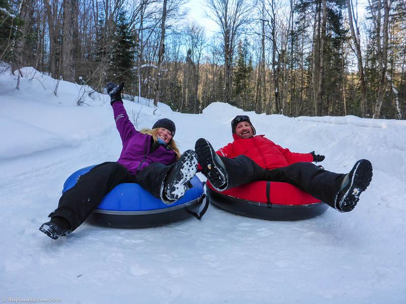 Snowtubing at Arrowhead Provincial Park