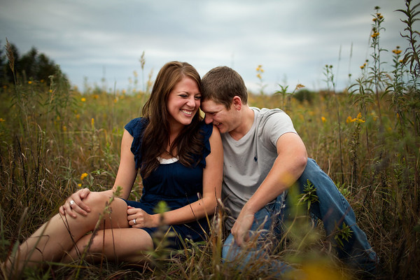Luebbering + Berhorst Engagement - Jefferson City, MO Wedding Photographer