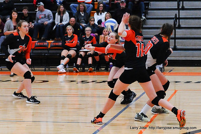 Freshmen Volleyball vs Western