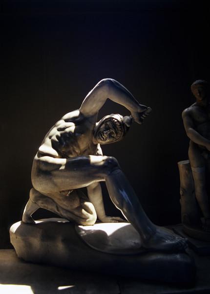 Statue at Musei Vaticani, Rome (Italy)