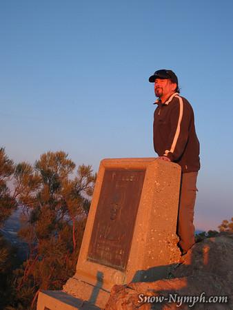 2012 (Jan 4) Sandstone Peak loop, Mishe Mokwa and Backbone Trails, Santa Monica Mtns